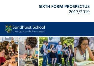Sixth Form Prospectus 2017