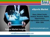 eSports Market size and forecast, 2016-2026