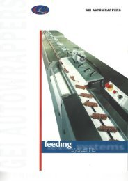 GEI Autowrapper feeding systems