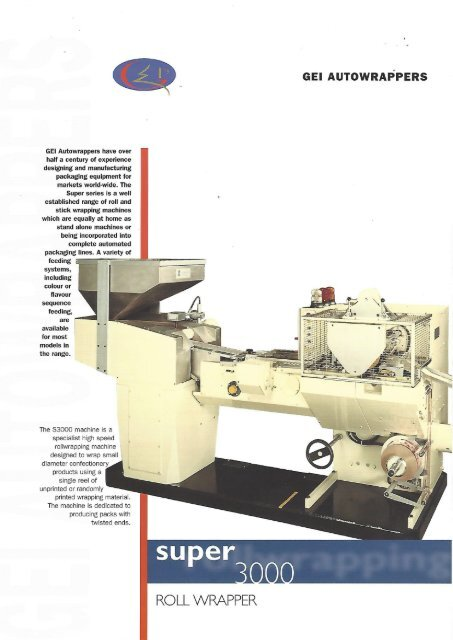 GEI Autowrapper Super 3000