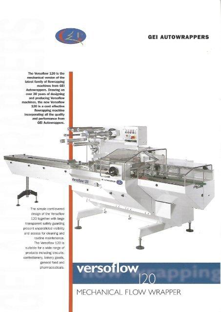 GEI Autowrapper versoflow 120 mechanical