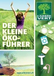 DER KLEINE DER KLEINE ÖKO- FÜHRER - L'ARBRE VERT
