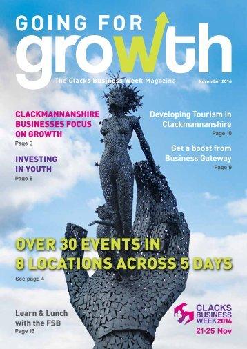 Clacks Business Week 2016 Magazine