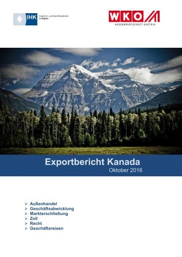 Exportbericht Kanada