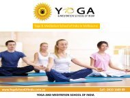 Contact us - Yoga & Meditation School of India in Melbourne
