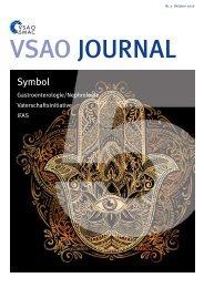 VSAO JOURNAL Nr. 5 - Oktober 2016