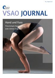 VSAO JOURNAL Nr. 4 - August 2016