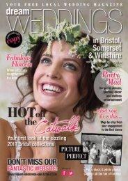 Dream Weddings Magazine - Bristol, Somerset & Wiltshire - iss.34
