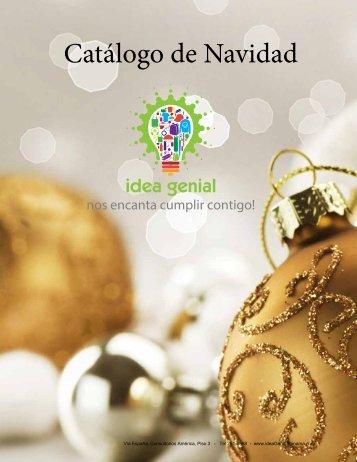 IDEA GENIAL Catalogo Navidad 2016