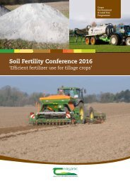 Soil Fertility Conference 2016