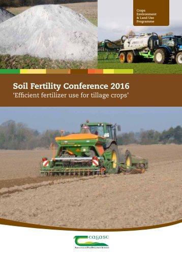 Soil Fertility Conference 2016
