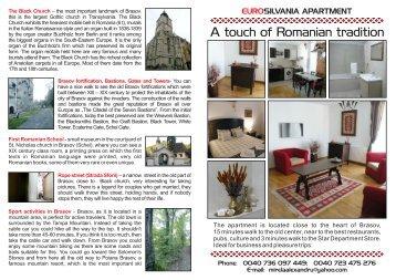 Eurosilvania - Apartment for rent, Romania, Brasov