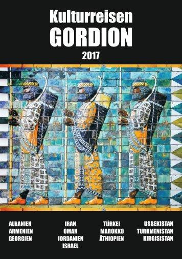 Reisebroschüre 2017