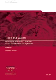 Trade and Water