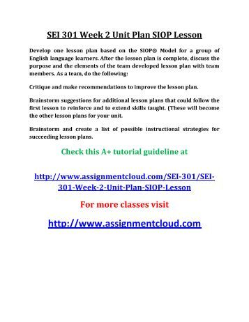 Siop Lesson Plan Template 2 Business Template Siop Lesson Plan Siop