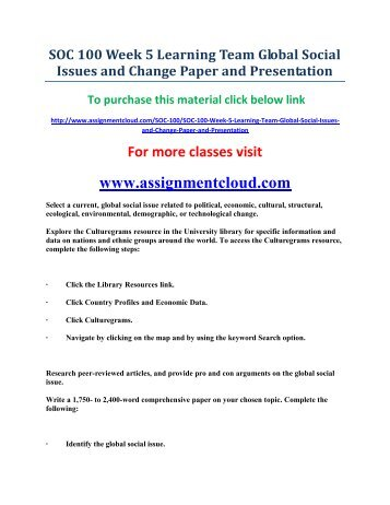 Hcs 455 week 5 reflective essay