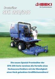 Frontmäher SFH 220/240 - Iseki