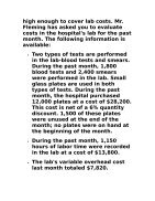 BUS 630 Week 5 DQ 1 Variance Analysis in a Hospital - Page 2