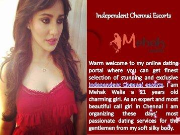 Stunning Independent Chennai Escorts