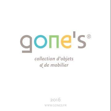 Gone's Catalogue 2016