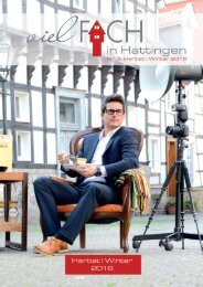 vielFACH in Hattingen - Magazin Herbst /Winter 2016