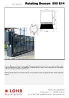Lohr Signalgeräte Industrie Katalog Englisch - Page 3