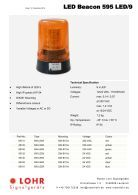 Lohr Signalgeräte Industrie Katalog Englisch - Page 6