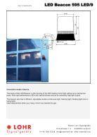 Lohr Signalgeräte Industrie Katalog Englisch - Page 7