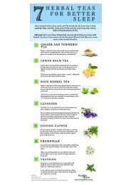 7 Best Herbal Teas To Help You Sleep Well