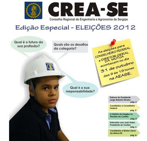 Revista Crea-SE 2012