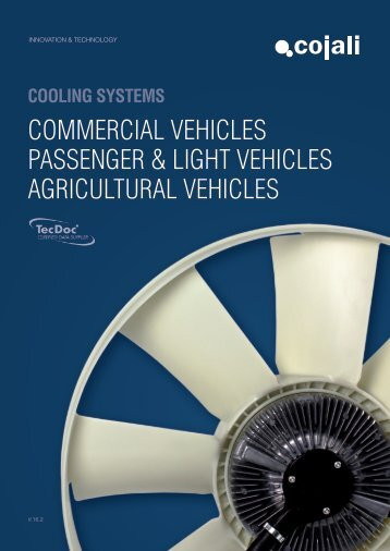COMMERCIAL VEHICLES PASSENGER & LIGHT VEHICLES AGRICULTURAL VEHICLES