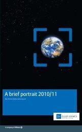 A brief portrait 2010/11 - Euler Hermes Kreditversicherungs-AG