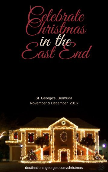 Celebrate Christmas in the East End