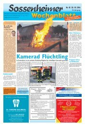 Sossenheimer Wochenblatt