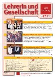 SLÖ Salzburg - SLÖ - Sozialdemokratischer LehrerInnenverein ...