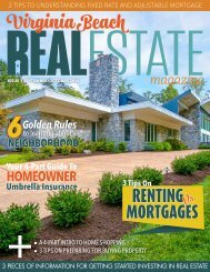 Virginia Beach Real Estate - October/September 2016