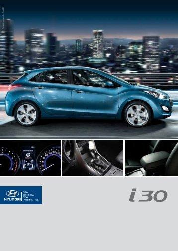 Brochure Hyundai I30
