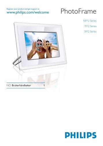 Philips PhotoFrame - User manual - NOR