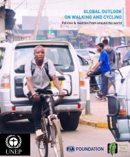 Global Outlook on Walking and Cycling