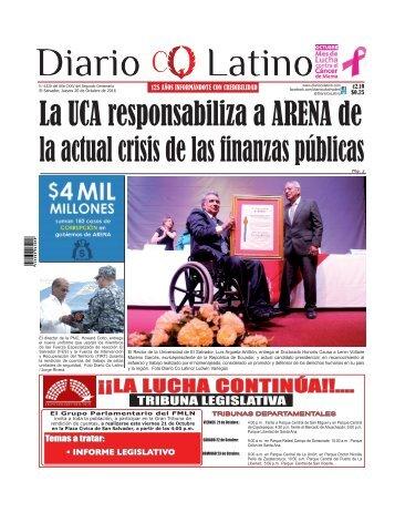 Edición 20 de Octubre de 2016