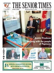 April 2009 - The Senior Times