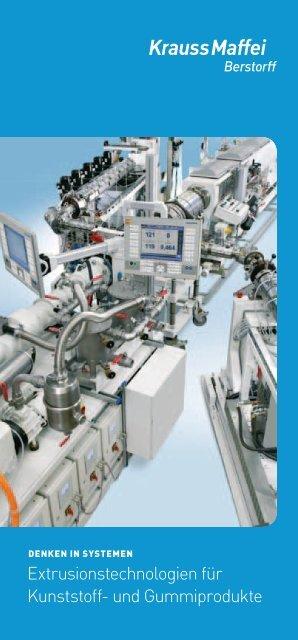 Extrusionstechnologien für Kunststoff- und ... - Krauss Maffei