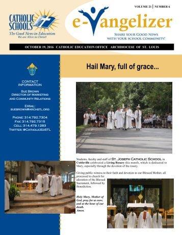 Hail Mary full of grace..
