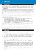 Philips Avent Digital baby thermometer set - User manual - DEU - Page 6