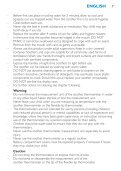 Philips Avent Digital baby thermometer set - User manual - DEU - Page 7