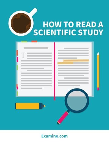 HOW TO READ A SCIENTIFIC STUDY