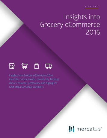 Insights into Grocery eCommerce 2016