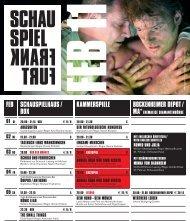 der nackte wahnsinn - Schauspiel Frankfurt