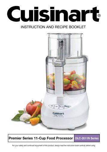 Kitchenaid 9 Cup Food Processor Instruction Manual