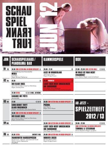 a die physikeR - Schauspiel Frankfurt